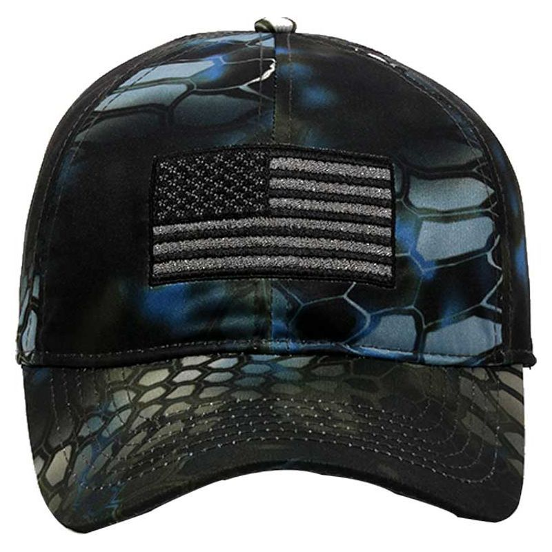 Kryptek Men s Digital Camo Flag Hat 7183db7583f