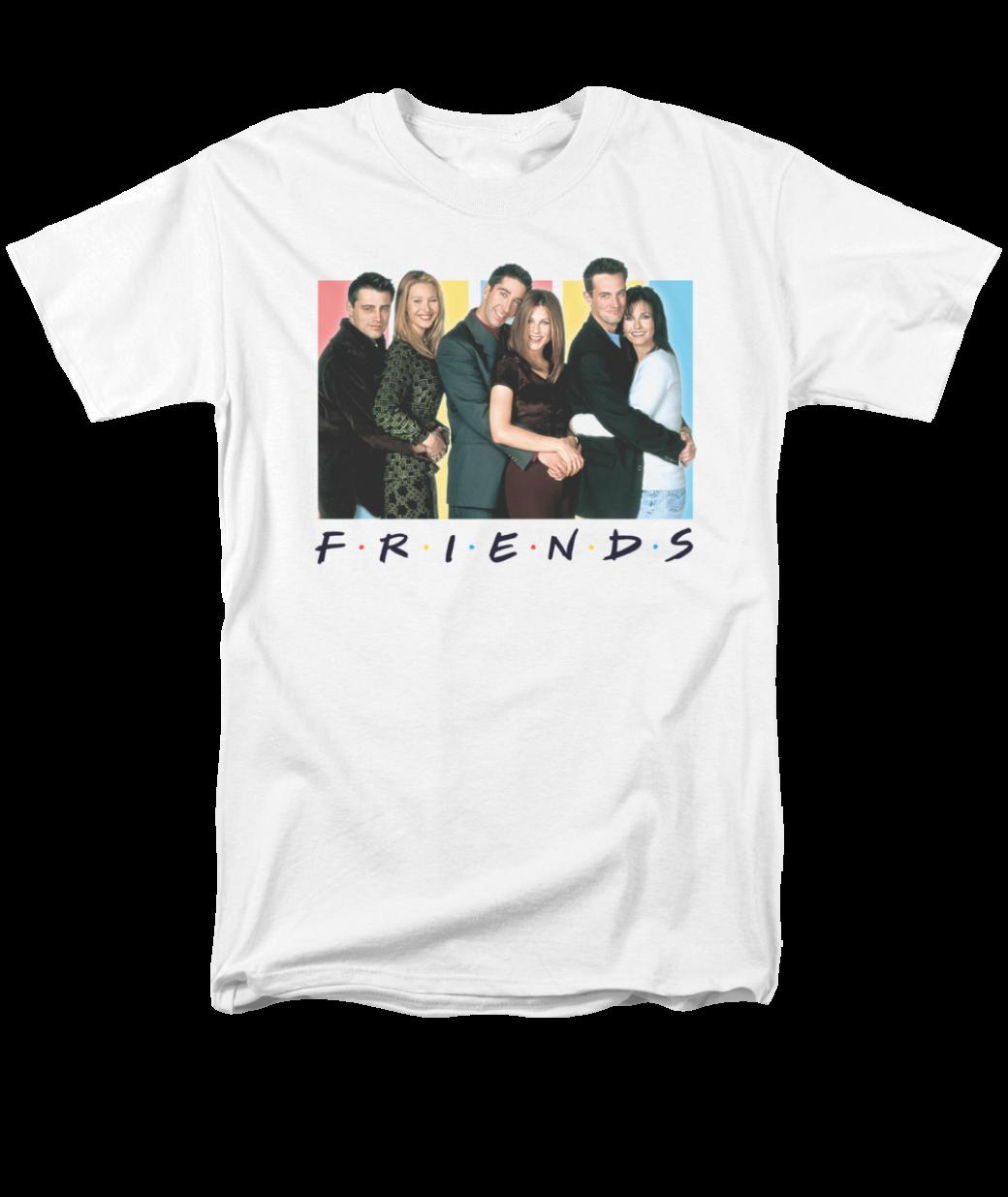 d867a9e516e60 FRIENDS/CAST LOGO | Classic Tv Show T Shirts | Popfunk | Clothing in ...