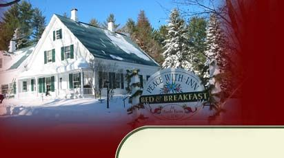 Lodging near North Conway, NH in Fryeburg, ME ~ Peace With-Inn