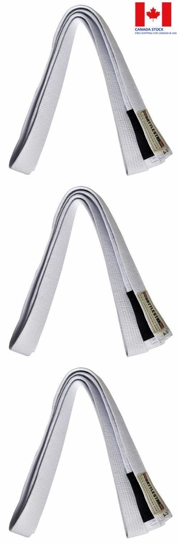 Belts and Sashes 73981: White Jiu Jitsu Bjj Belt 100% Cotton