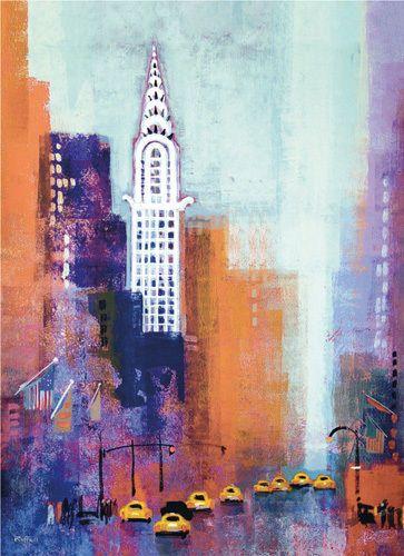 Manhattan Chrysler Building Colin Ruffell Building Art