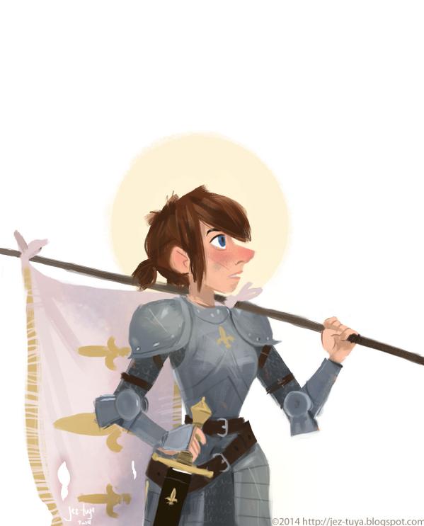Joan of Arc by Jez Tuya