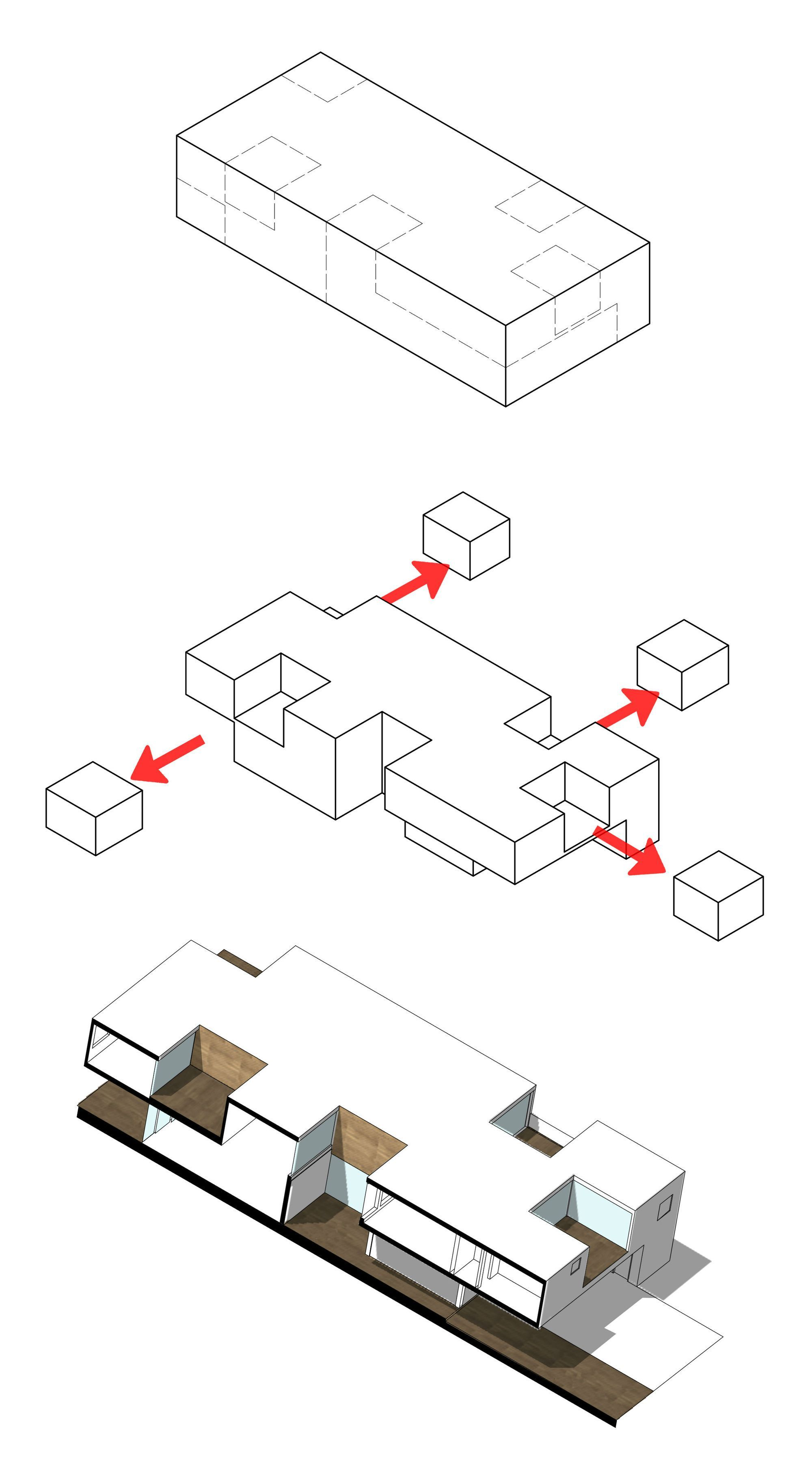 Image 21 Of 26 From Gallery Of Subtracted House Seinfeld Arquitectos Diagram