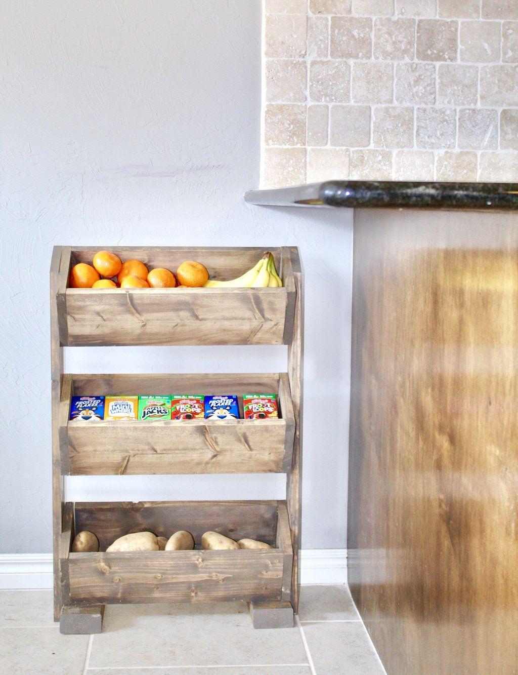 Diy produce stand casa decoraci n de interiores - Accesorios para decoracion de interiores ...