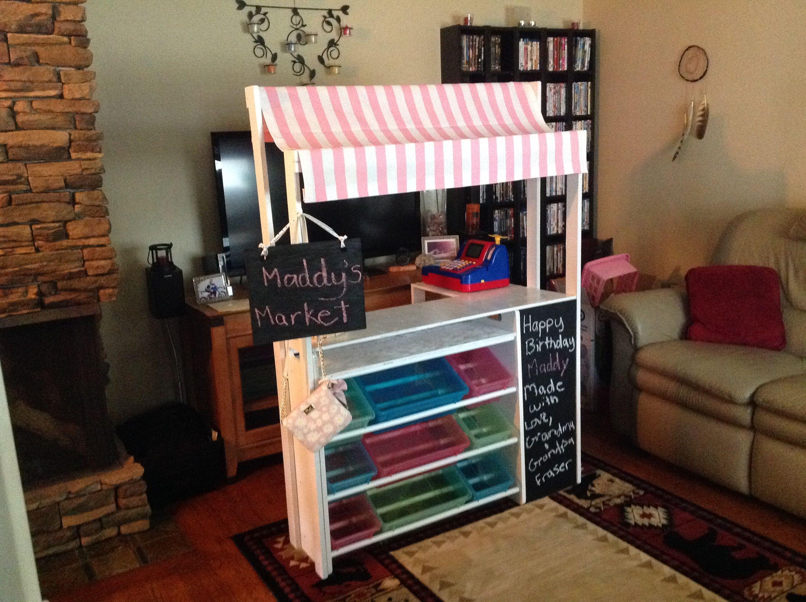 Diy Kids Play Market Diy Kids Play Grocery Store
