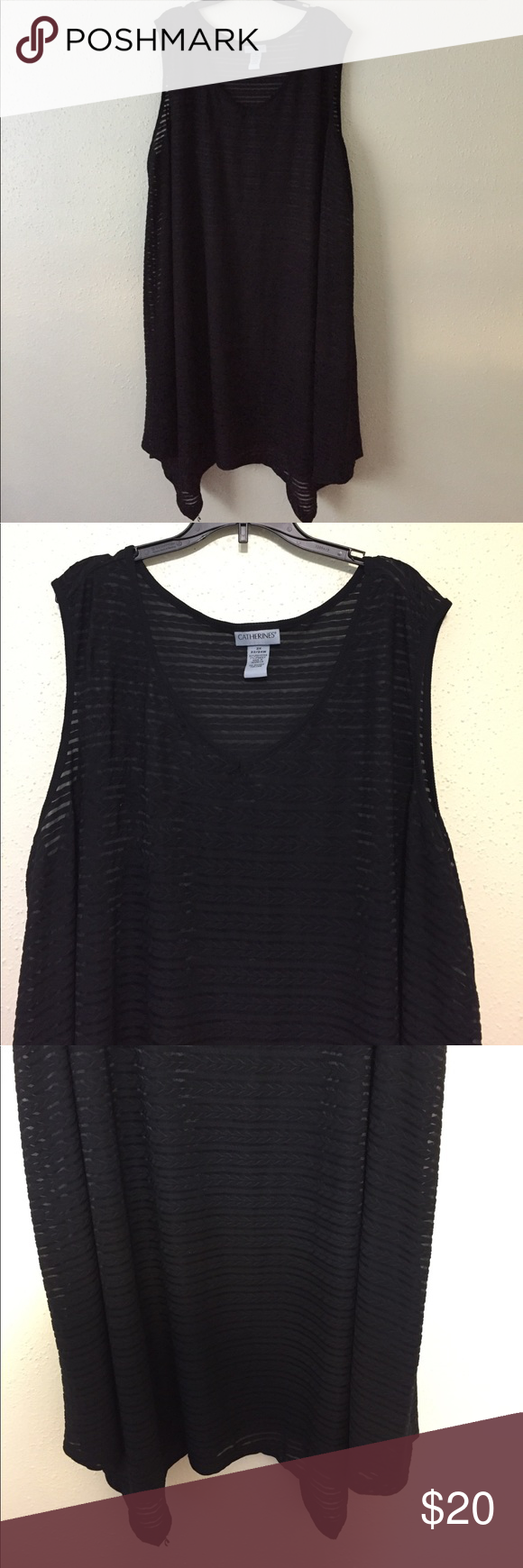 Catherineus swim sheer black coverup swim cover polyester spandex