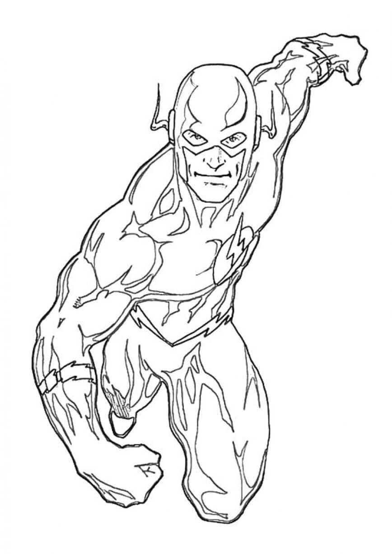 Flash Superhero Coloring Pages Superhero Coloring Superhero Coloring Pages Avengers Coloring Pages
