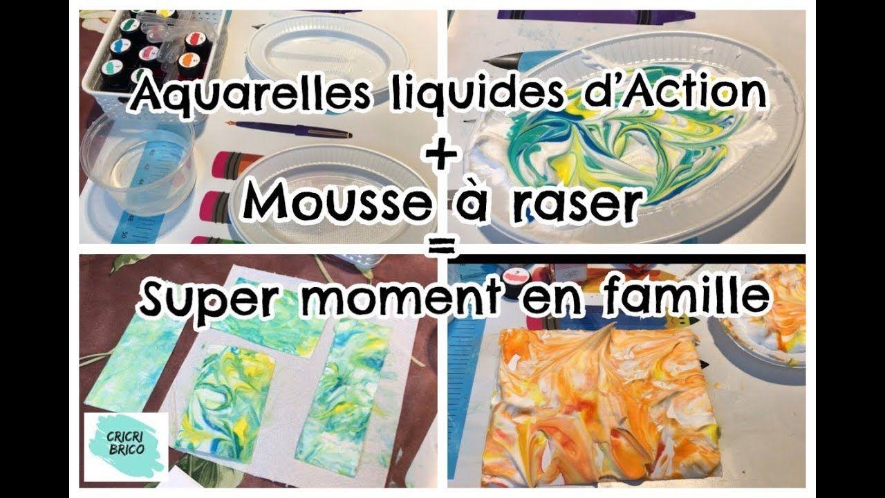 Aquarelle Liquide Action Nouvelles Couleurs Et Dans Des Sprays
