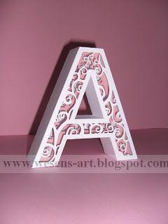 3d Letter Diy.3d Letters 5 Wesens Art Blogspot Com Cool Lettering 3d