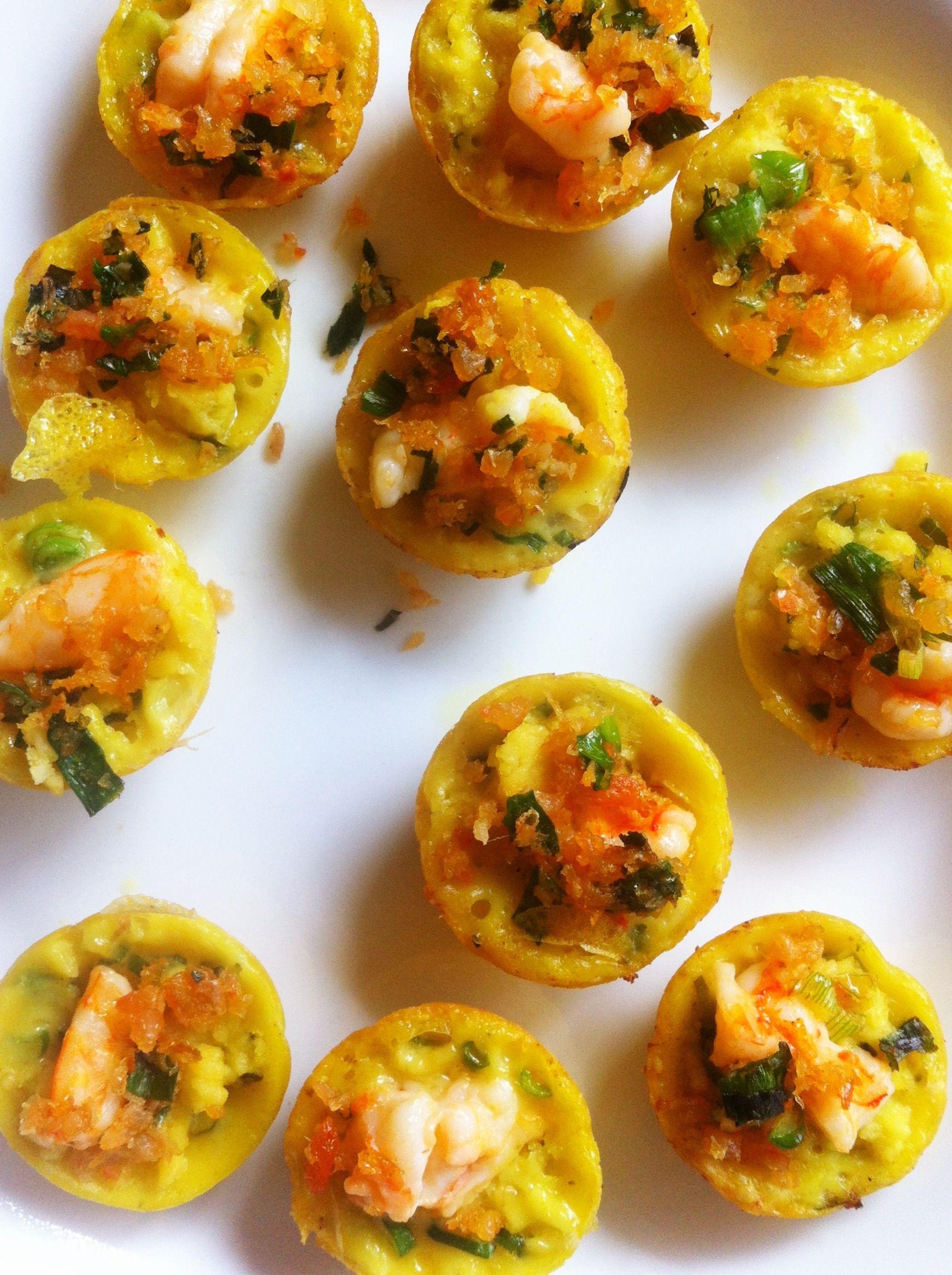 Savory Mini Shrimp Cakes (Banh Khot) | Viet food | Pinterest | Minis ...