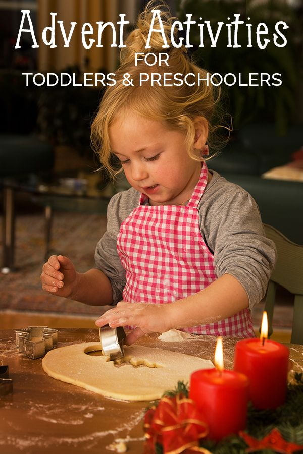 Advent Activities For Toddlers And Preschoolers Fun