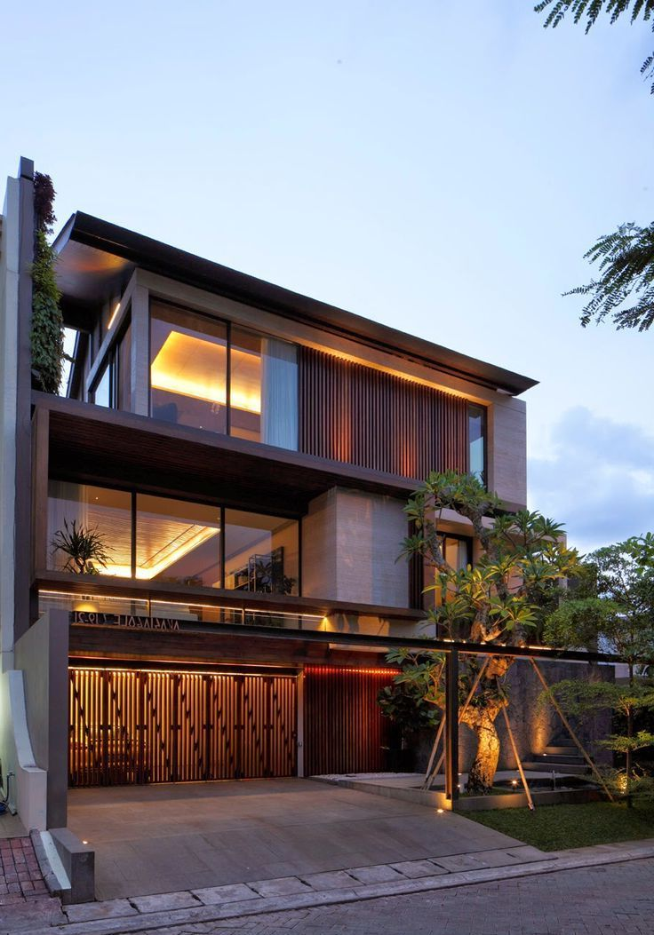 Architecture home office modern tropical house design loft also the gentry rama by sc asset architect rh pinterest