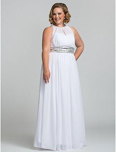 Sheath / Column Celebrity Style Minimalist Elegant Prom ...