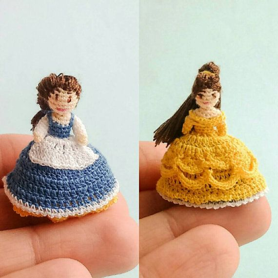 Miniature Amigurumi Doll : Check out this item in my etsy shop https