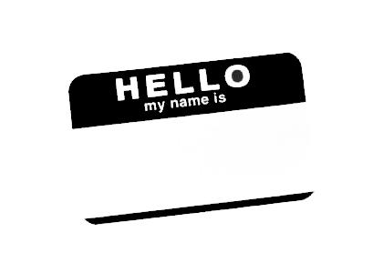 Hello My Name Is Stencil Template Graffiti Schablonen Graffiti Schablonen
