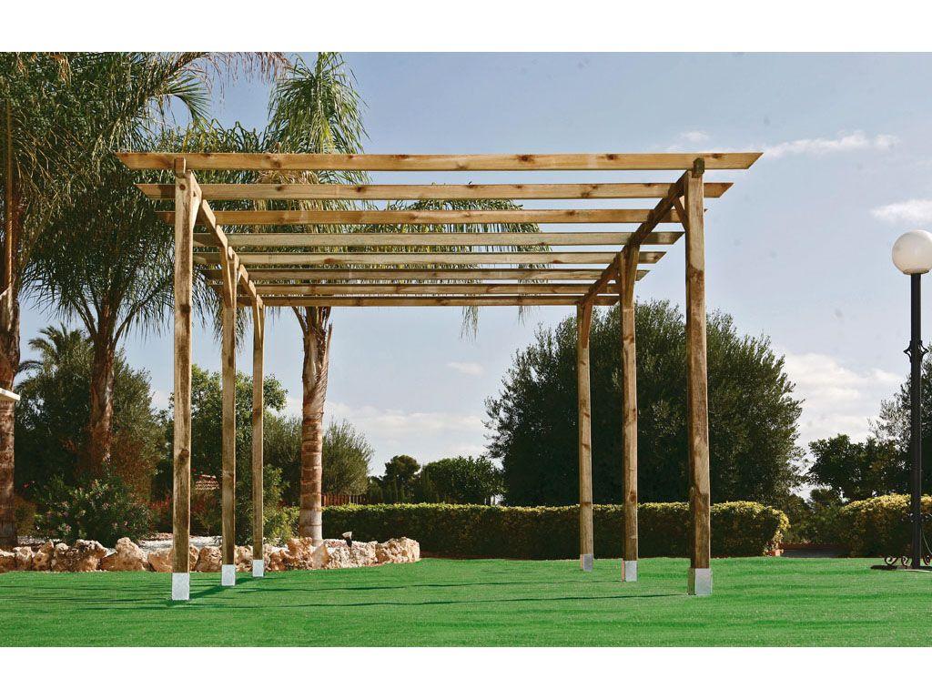 Reserva un lugar especial en tu jard n con una p rgola - Como construir una pergola de madera ...