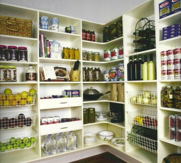 Incomparable Kitchen Pantry Design Plans With Open Corner Pantry Custom  Storageu2026