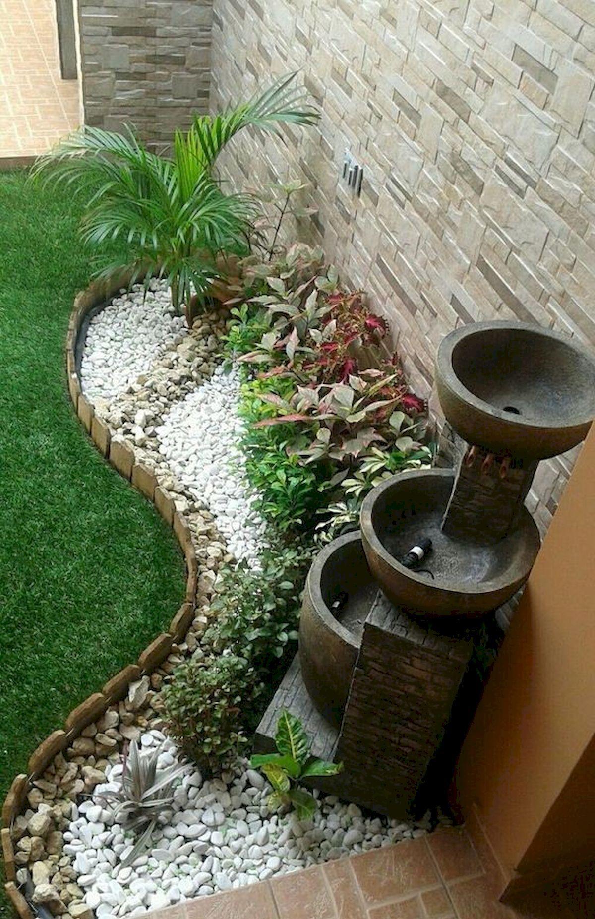 71 Beautiful Gravel Garden Design Ideas For Side Yard And Backyard #sideyards