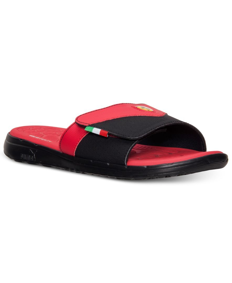 b85bfde84efbff Puma Men s Ferrari Slide Sandals from Finish Line