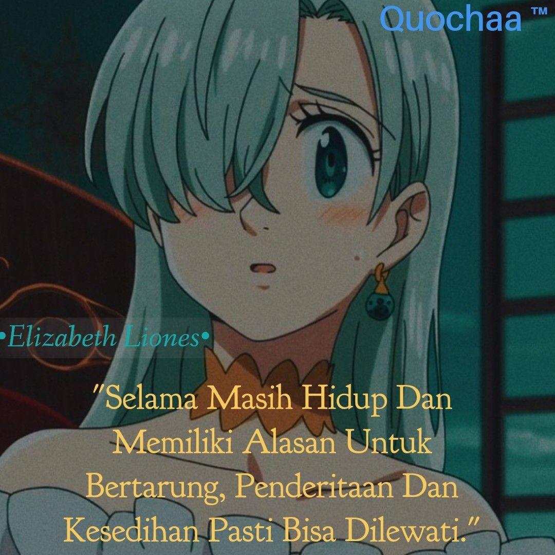 Kata Kata Karakter Anime Di 2020 Sedih Hidup