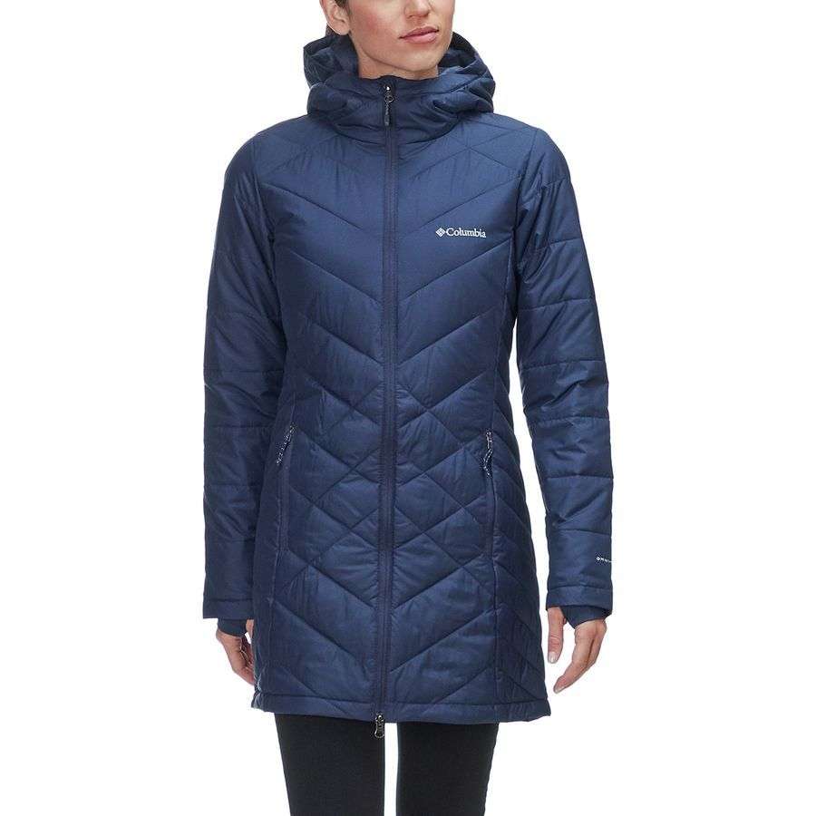 a4236345797 Columbia Heavenly Long Hooded Jacket - Women's   apparel   Jackets ...