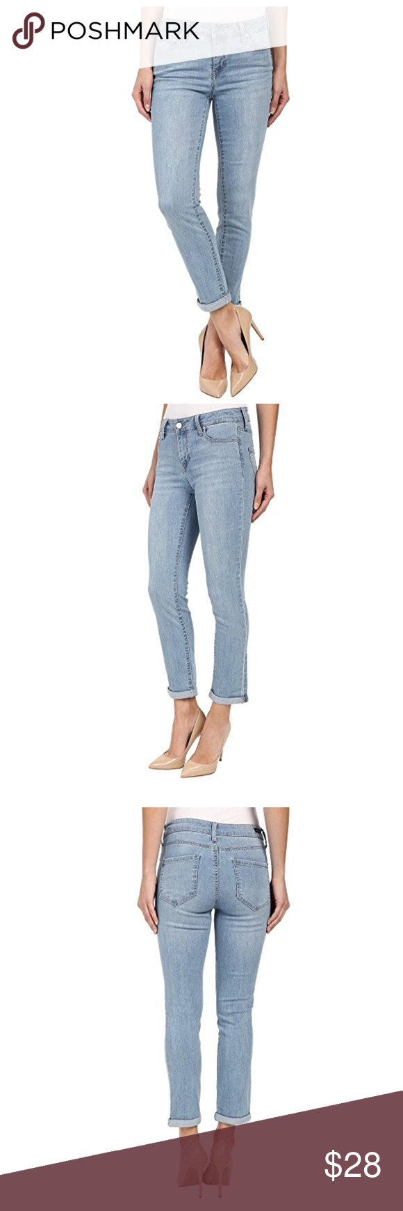 766c1432c4 NWT Liverpool Jean Company crop jeans NWT. Liverpool 26 in inseam crop jeans  with rolled