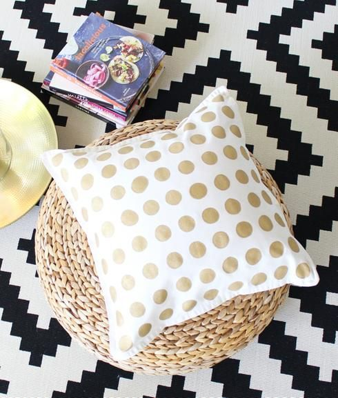 How to Make 2 Anthropologie-Inspired Pillows for HALF the Price of 1