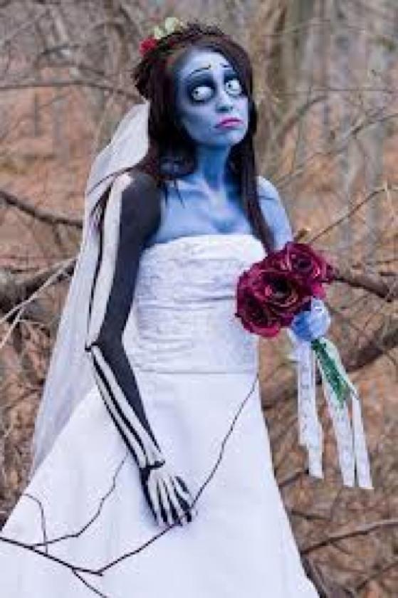how to make a homemade dead bride costume