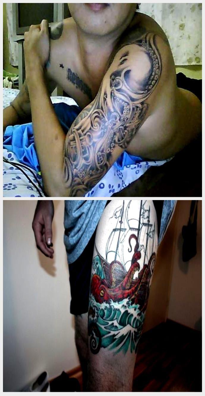 Photo of Japanische Krake Tattoo | Riesenkraken-Tätowierung, #giant #Japanese #Octopus #octo …