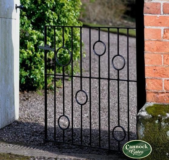 Exceptionnel Picasso High Wrought Iron Metal Steel Garden Gate From Cannock Gates
