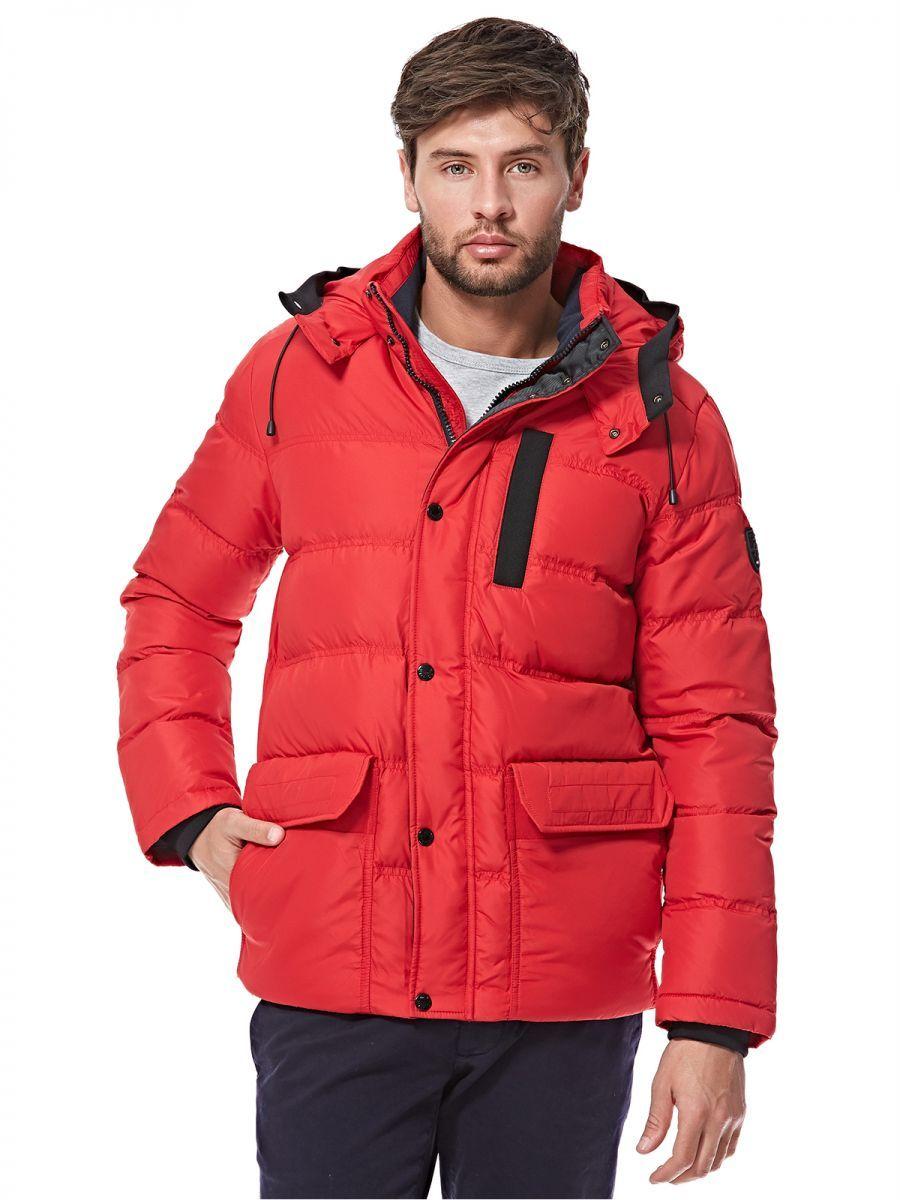 8bbd2f76 Buy Tommy Hilfiger Puffer Jacket for Men - Red - Jackets & Coats   KSA    Souq