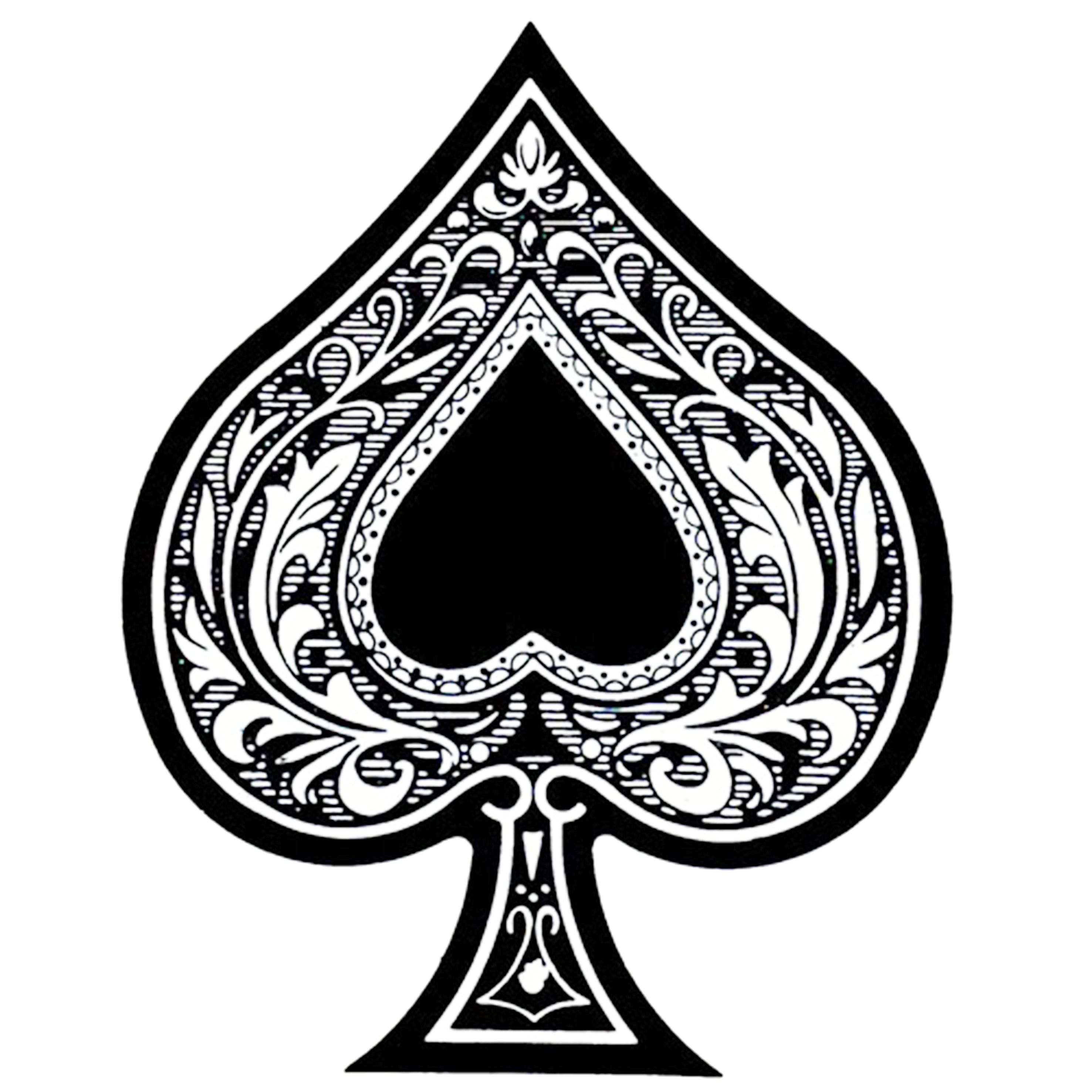 bf3134641 NOVA ESTAMPA ACE OF SPADES   The Ace Of Spades in 2019   Ace of ...