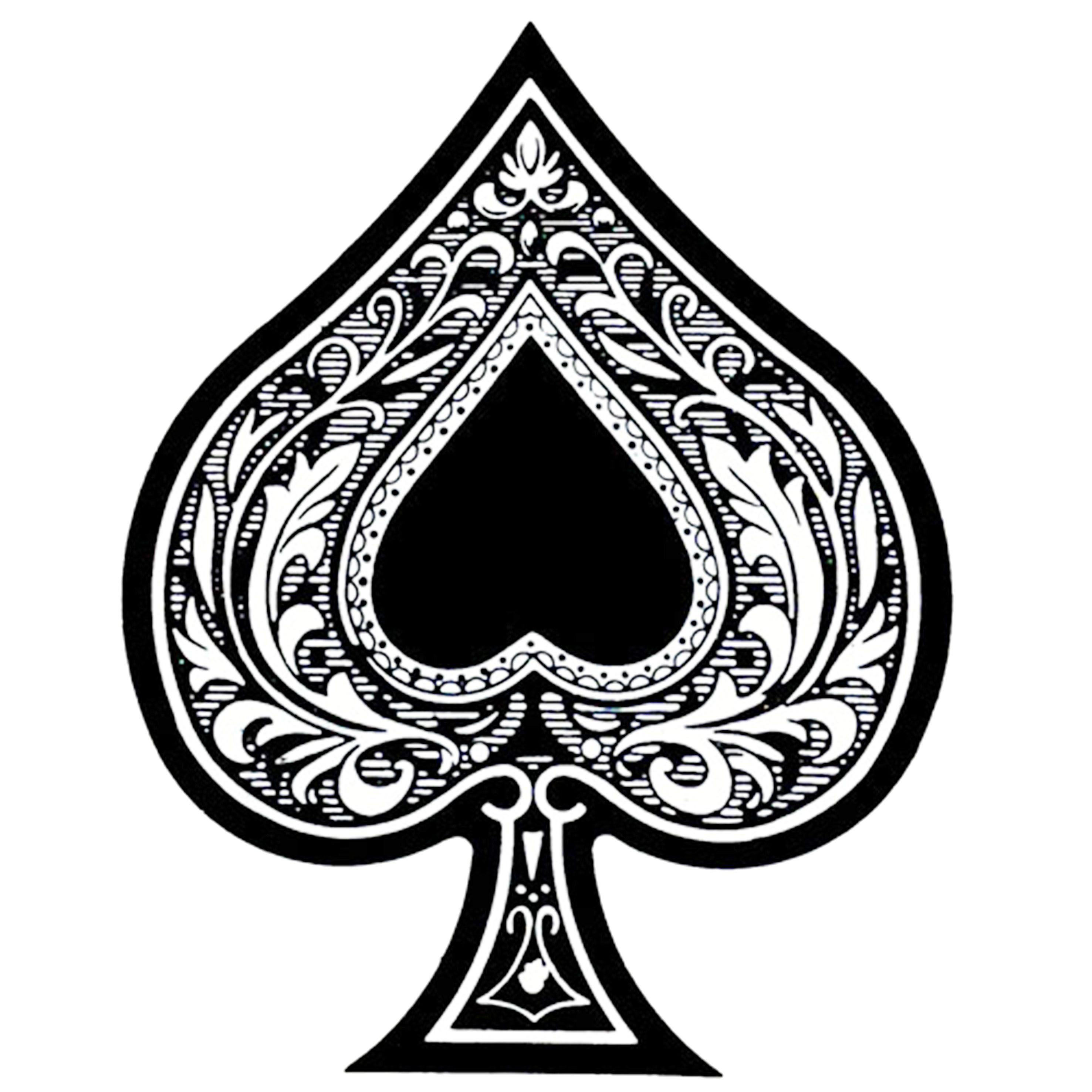 Nova Estampa Ace Of Spades As De Picas As De Espadas Arte Con