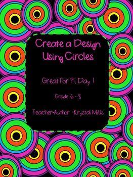 free circle art activity