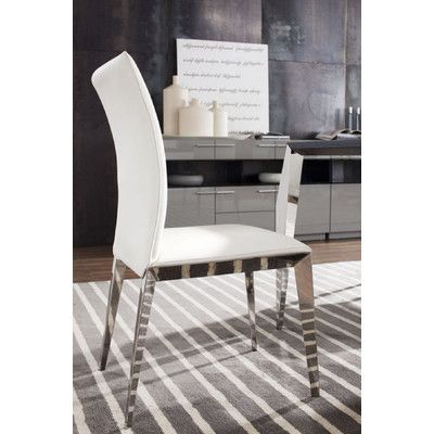 Vig Furniture Modrest Daytona Parsons Chair Reviews Wayfair