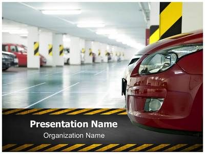 parking lot powerpoint template is one of the best powerpoint