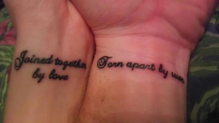 Finishing Tattoo Military Life Military Couple Tattoos Cute Tattoos