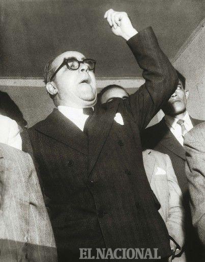 Mario Briceño Iragorry: humanista, investigador, cronista y político. 2-12-1952 (Colección El Nacional)