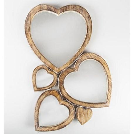 Mirror Multi Love Mirror Heart Mirror Romantic Wall Decor
