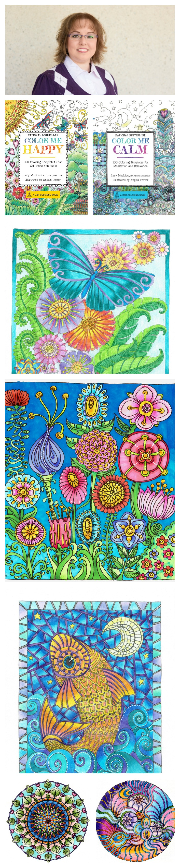 Colouring for adults benefits - Adult Coloring Book Author And Art Therapist Lacy Mucklow Talks To Us About The Benefits Of