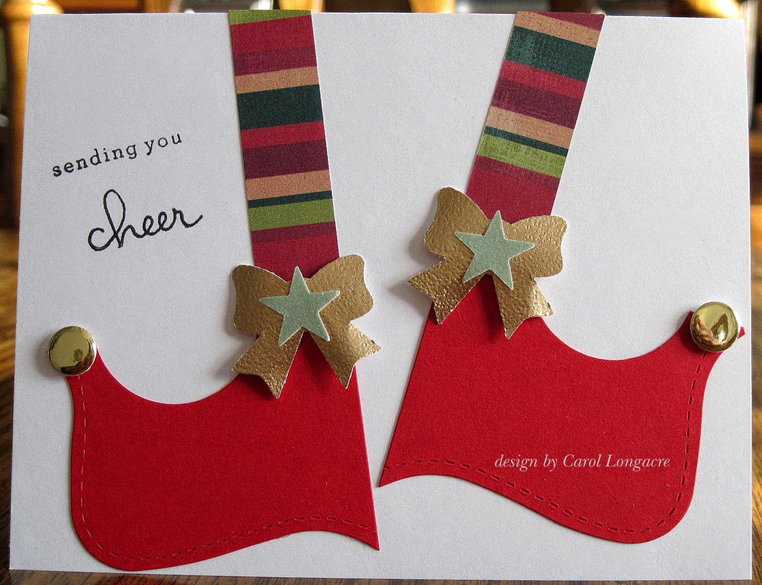 Elf Shoes Cards Ive Made 2014 Pinterest Elf Shoes Elves And