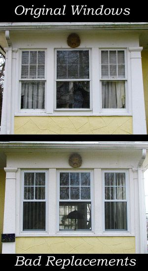 A Replacement Window Still Makes House Look Do You Recognize Good From Bad Design
