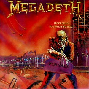Peace Sells But Who S Buying Megadeth Megadeth Albums Megadeth Rock Album Covers