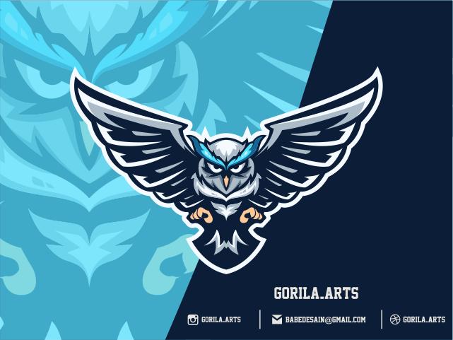 Owl Esports Logo Gaming Teams Logo keren, Desain, Gambar
