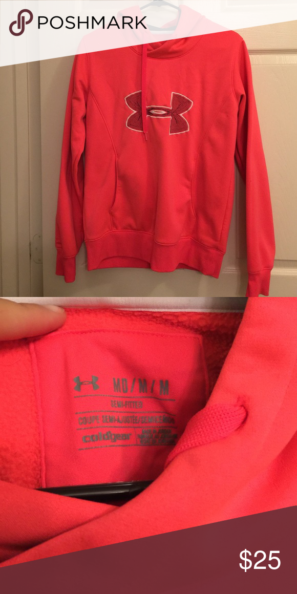 Under Armour women's hoodie No holes. No stains. No tears. Worn very few times! Under Armour Jackets & Coats