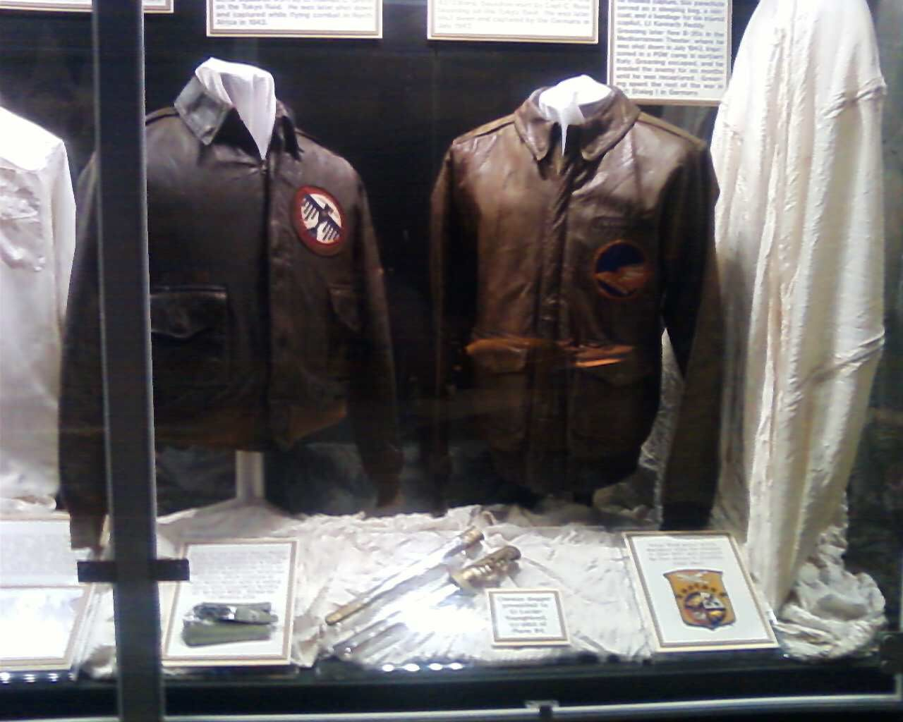 Doolittle raiders display at the national museum of the us