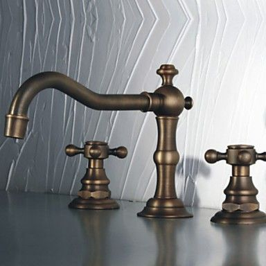 Antiquitäten & Kunst Drei Antike Bronze Armaturen Metallobjekte
