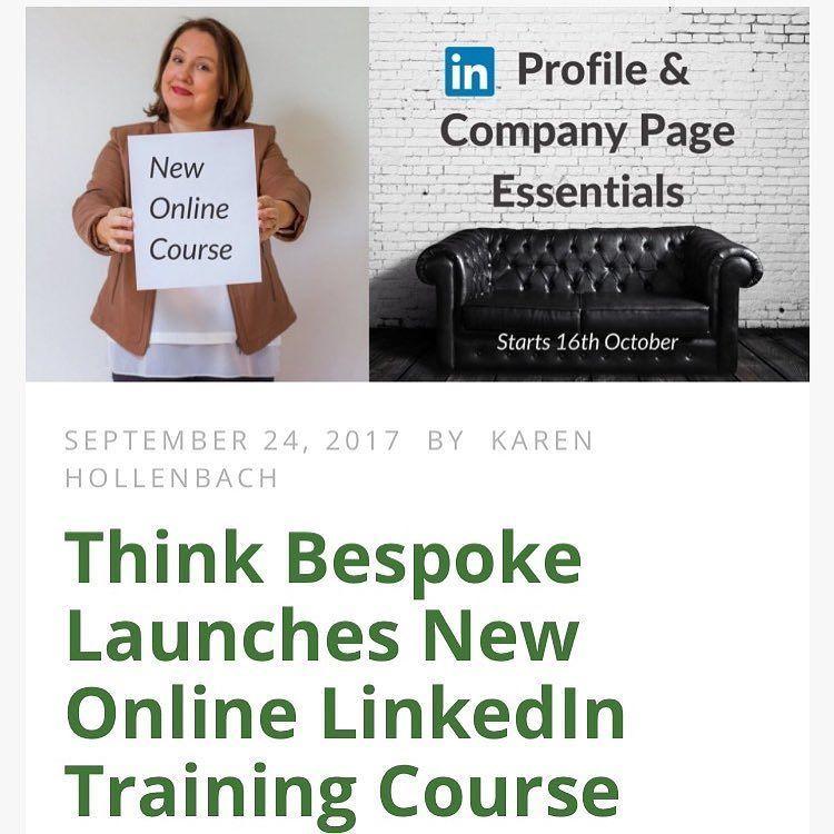 NewBlog Think Bespoke Launches New Online LinkedIn