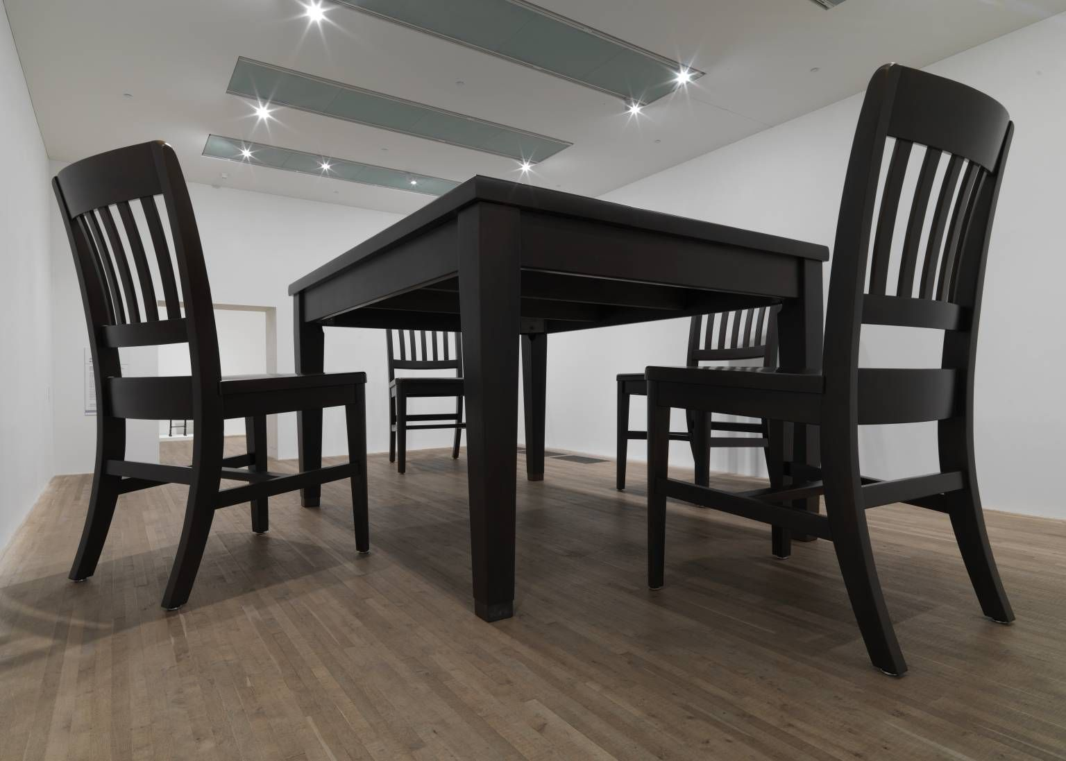 No Title Table And Four Chairs Robert Therrien 2003 In 2020
