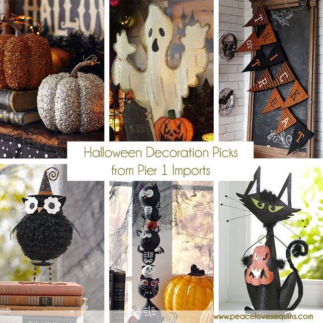 halloween decor picks from pier 1 imports - Pier 1 Halloween